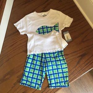 Corky's Kids 2 piece outfit